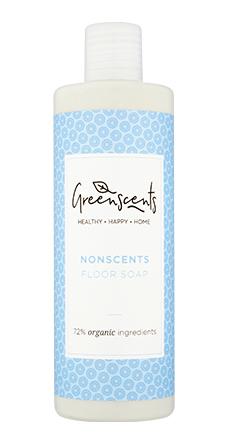 Greenscents nonscents organic floor cleaner