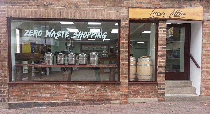 zero waste shop Lesser Litter