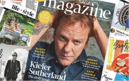 Greenscents in Saga Magazine