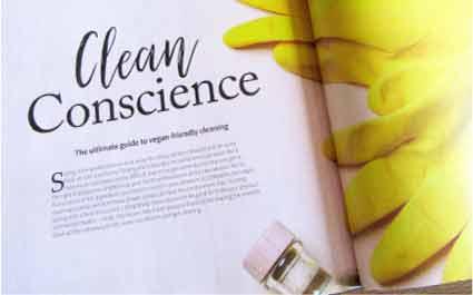 Greenscents in Vegan Life