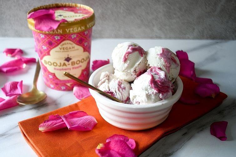 Vegan icecream by Booja-Booja
