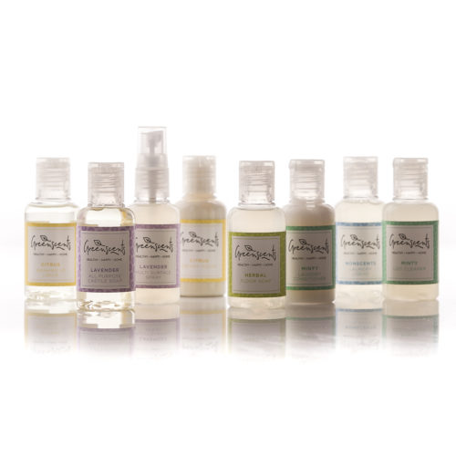 Greenscents organic cleaning Minis Collection