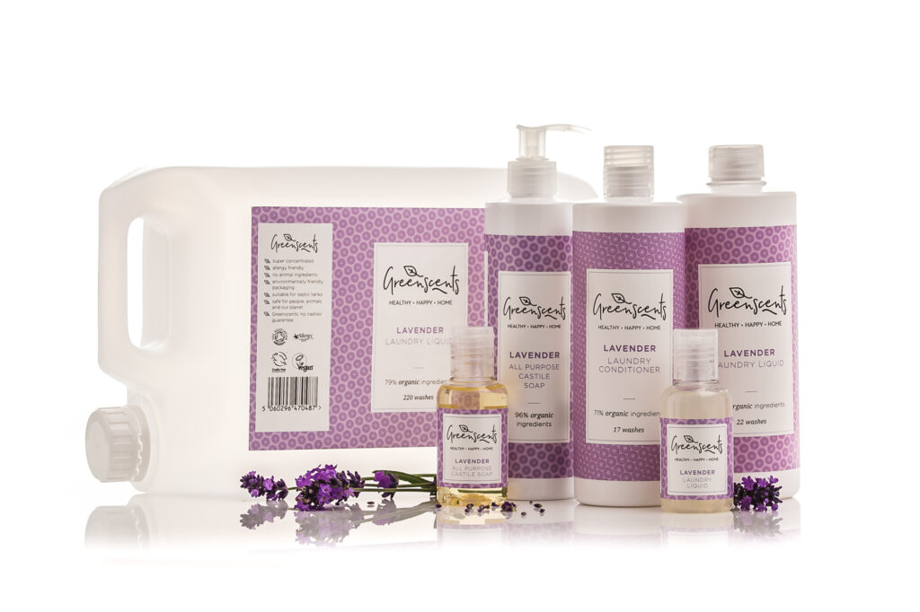 Greenscents Organic Laundry products