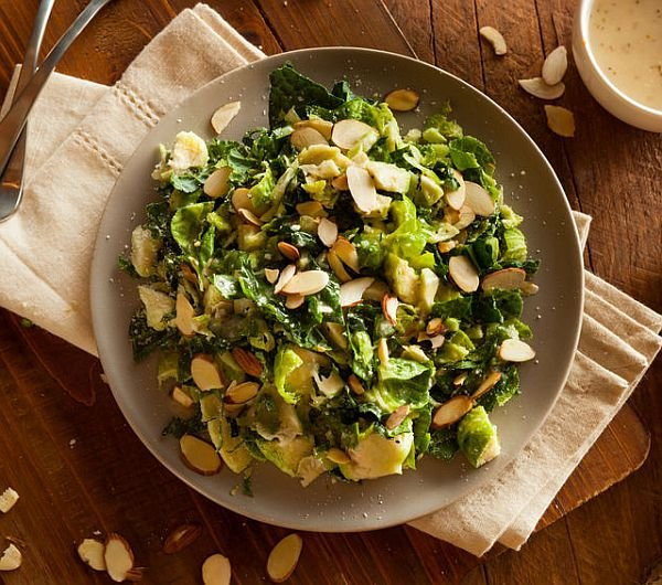 left-over brussel sprouts