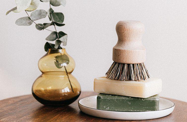 castile soap in hard version